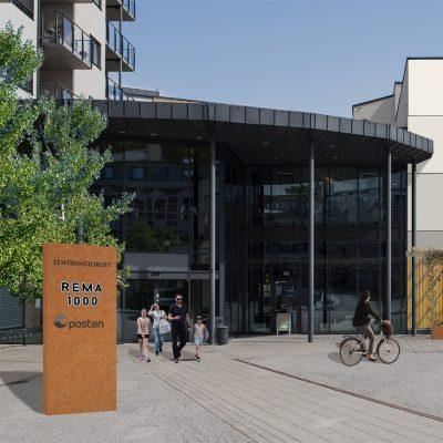 ST_Fasade_Rema og Posten_kvadrat